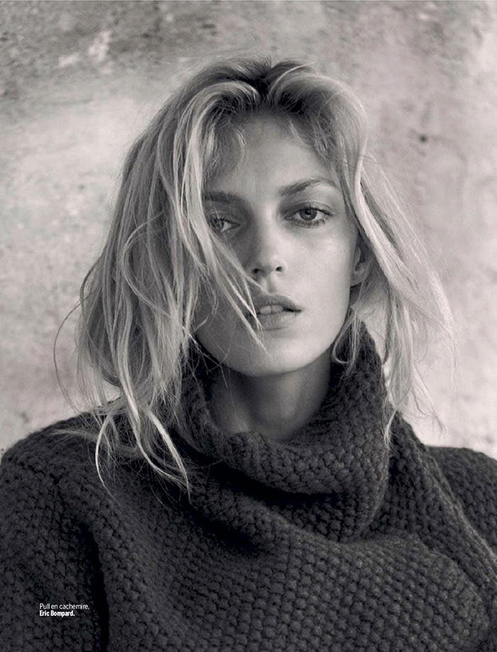 Anja Rubik by Matthew Brookes for L'express Styles
