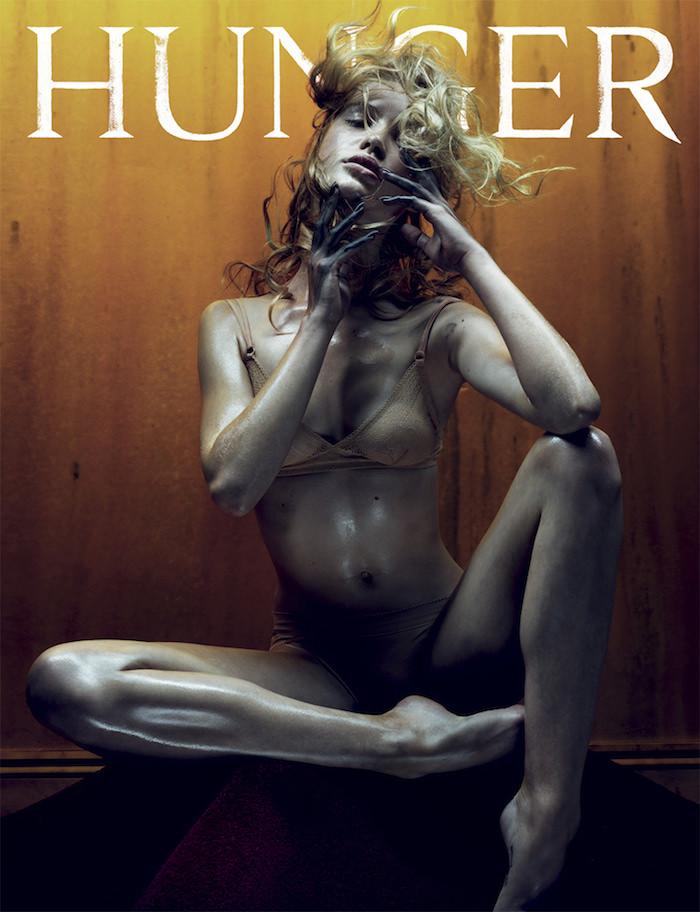 Camilla Christensen covers Hunger Magazine