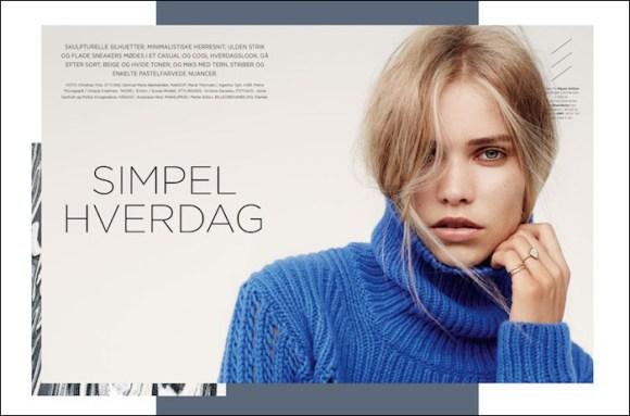 Kirstin Kragh Liljegren by Christian Friis for Eurowoman