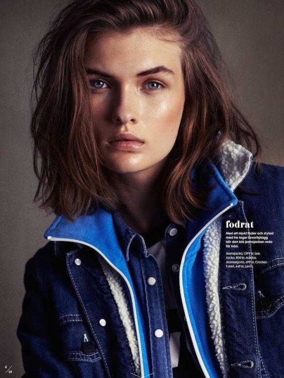 Lara Mullen by Honer Akrawi for Elle Sweden