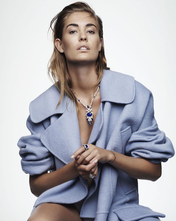 Nadja Bender by Ward Ivan Rafik for Vogue Russia
