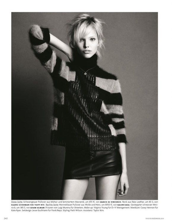 Sasha Luss by Luigi and Iango for Vogue Germany