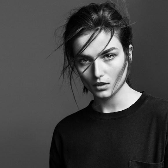 Andreea Diaconu by Erik Torstensson for Frame Denim