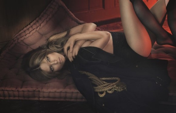Caroline Brasch Nielsen by Signe Vilstrup for Elle Denmark