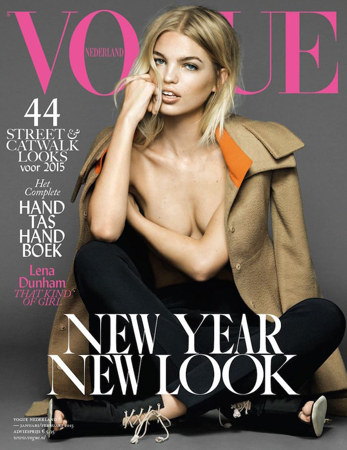 Daphne Groeneveld covers Vogue Netherlands