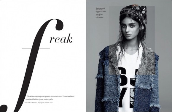 Taylor Hill by Tim Zaragoza for Amica