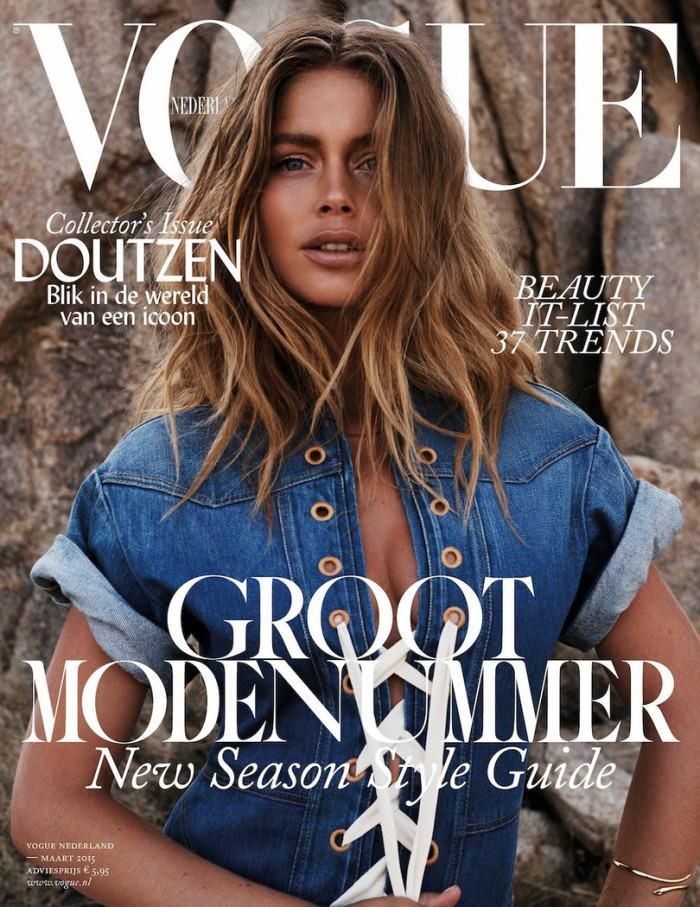 Doutzen Kroes covers Vogue Netherlands
