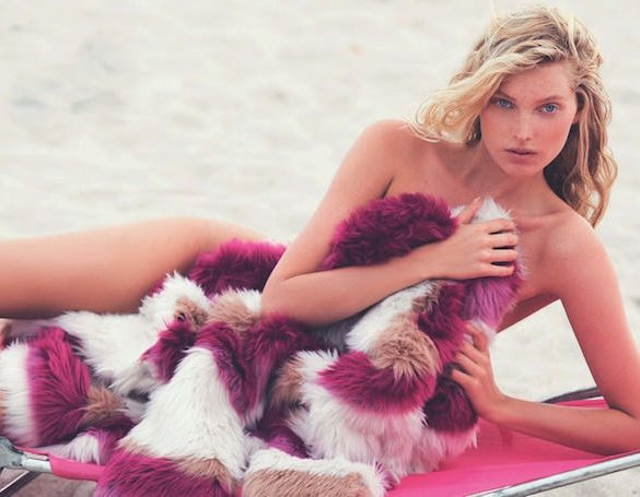 Elsa Hosk by David Bellemere for Marie Claire Italy