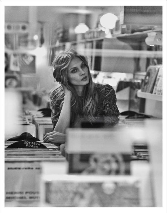 Anna Selezneva by Emma Tempest for Mixte Magazine
