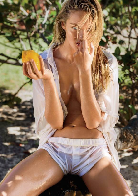 Candice Swanepoel by Gilles Bensimon for Maxim