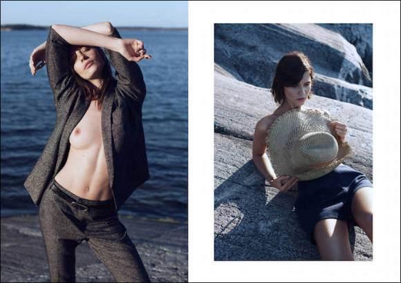 Simone Flinthøj and Maja Simonsen by Sara Bille for My Magazine