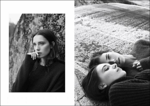 Simone Flinthøj and Maja Simonsen by Sara Bille for My Magazine