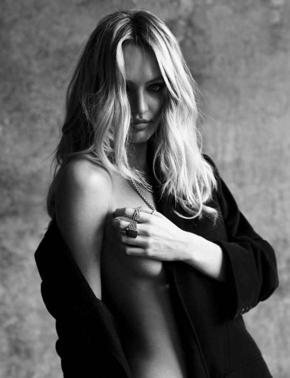 Candice Swanepoel by Sante D'Orazio for My Town Magazine