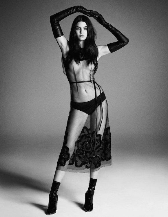 Kendall Jenner by Iango Henzi and Luigi Murenu for Vogue Japan