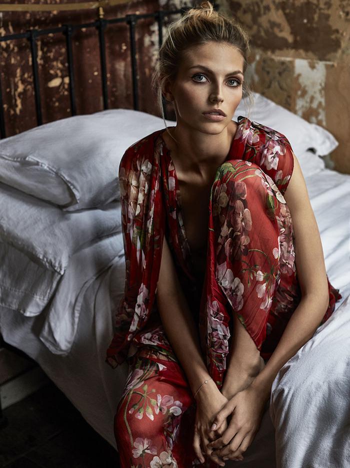 Karlina Caune by Tomas De La Fuente for Telva