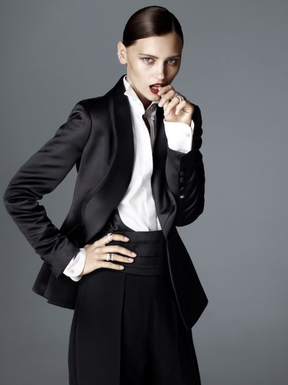 Mila Krasnoiarova by Jimmy Backius for Elle Germany