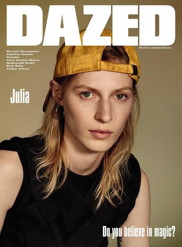 Julia Nobis by Collier Schorr for Dazed & Confused