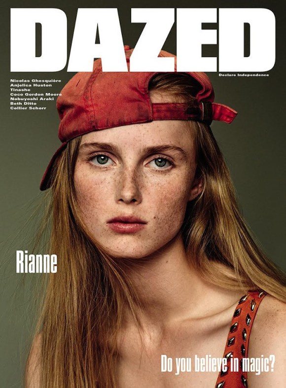 Rianne van Rompaey by Collier Schorr for Dazed & Confused