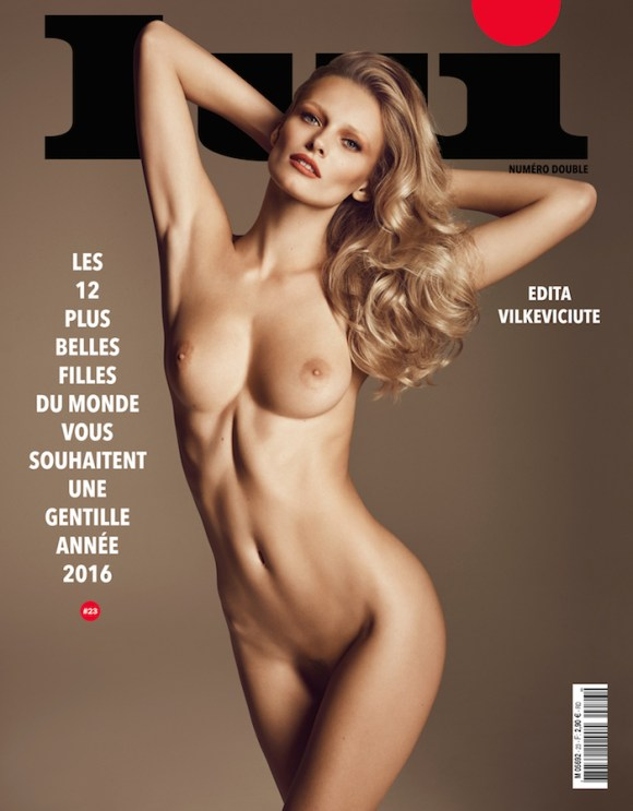 Edita Vilkeviciute by Luigi and Iango for Lui Magazine