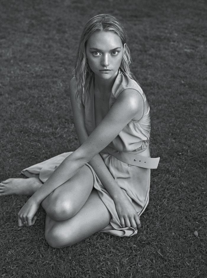 Gemma Ward by Lachlan Bailey for Vogue Australia