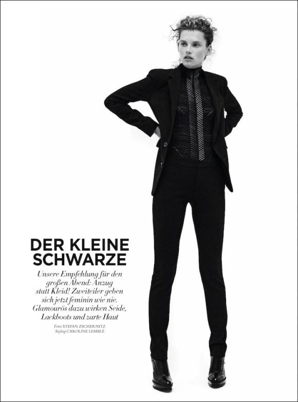 Giedre Dukauskaite by Stefan Zschernitz for Harper's Bazaar Germany