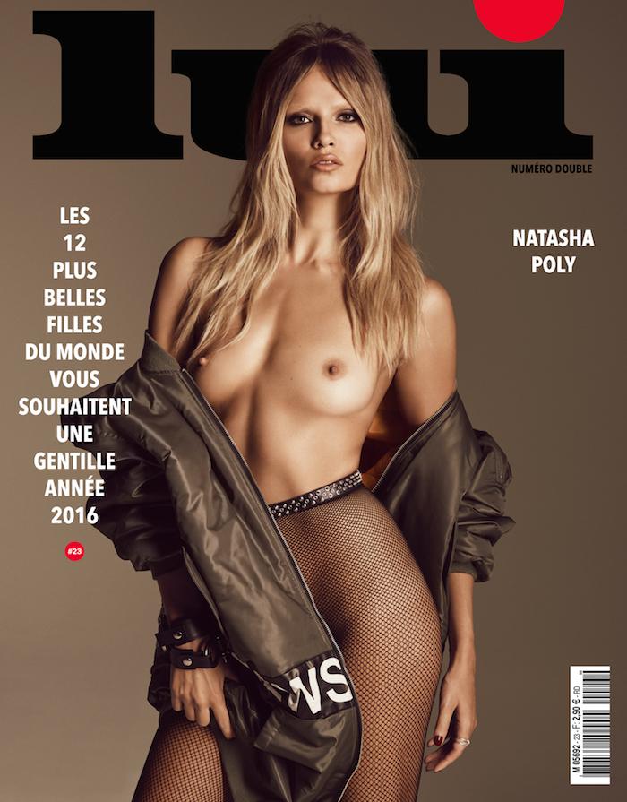 Natasha Poly by Luigi and Iango for Lui Magazine