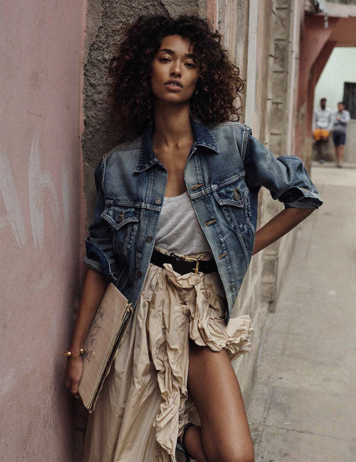 Anais Mali photographed by Benny Horne for Vogue Spain, March 2016