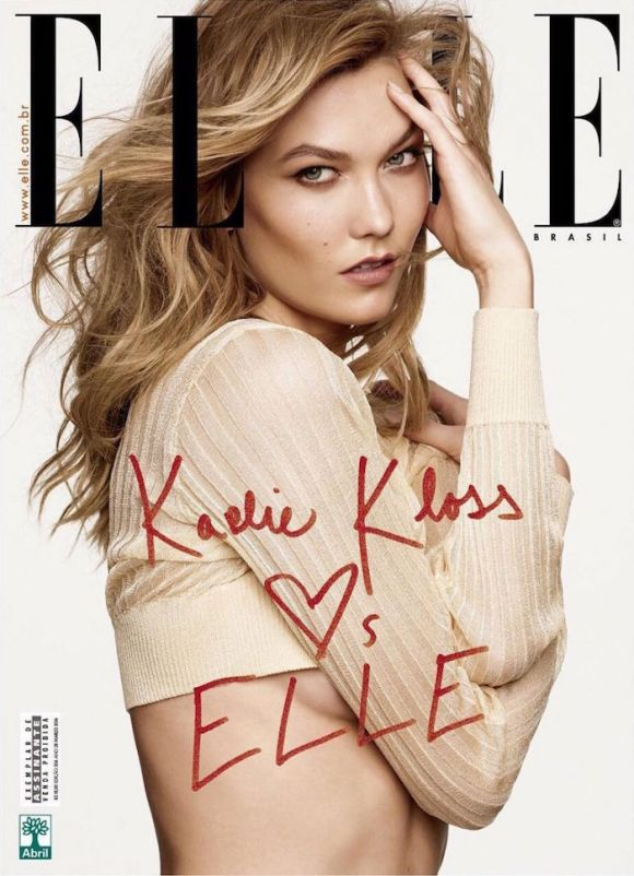 Karlie Kloss by Nicole Neiniger for Elle Brazil