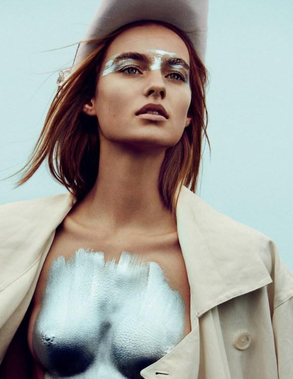 Maartje Verhoef by Txema Yeste for Vogue Russia