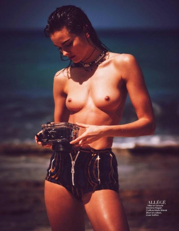 Monika Jac Jagaciak by Guy Aroch for Madame Figaro