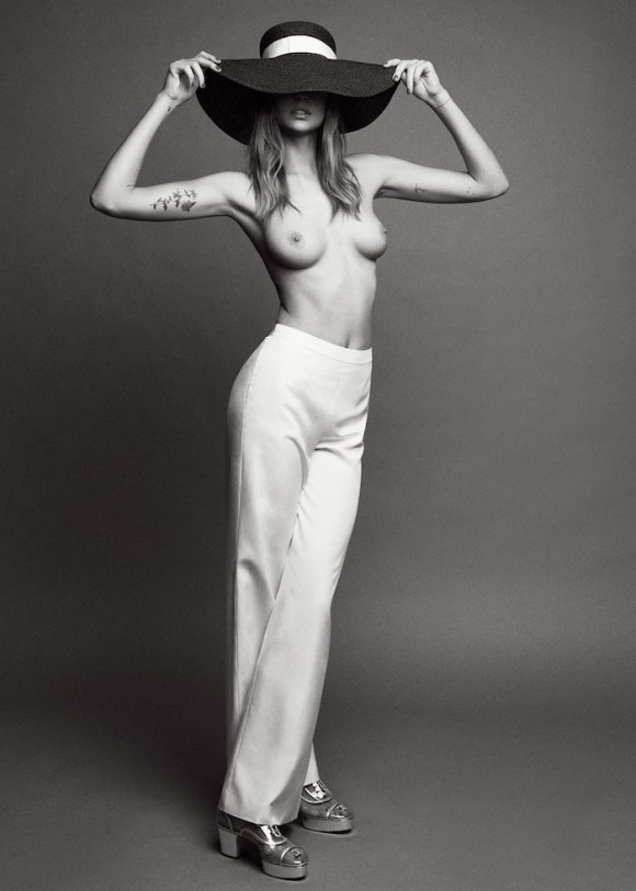 Nadja Bender by Bojana Tatarska for Glass Magazine