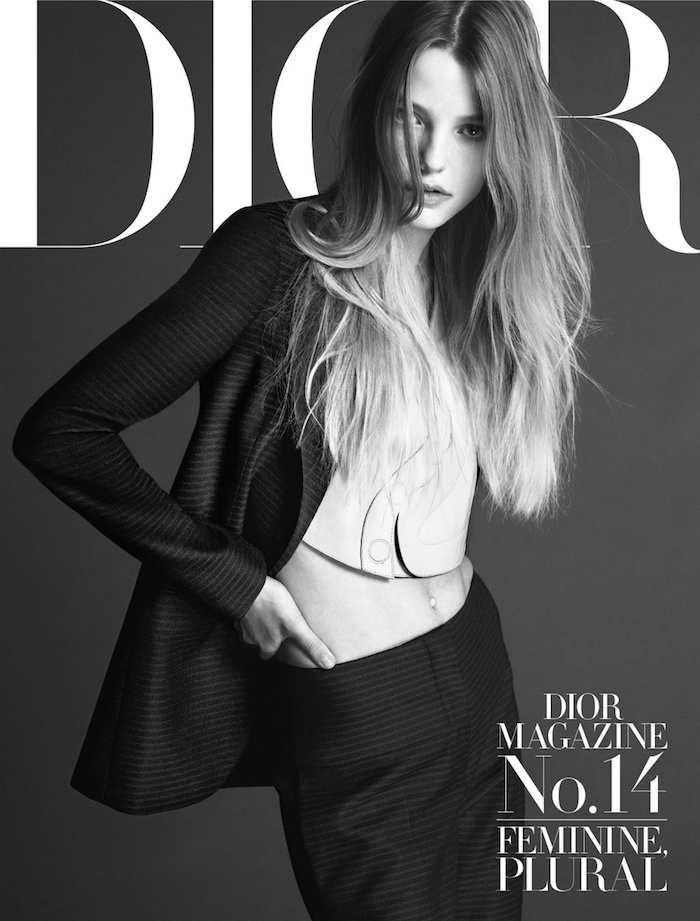 Roos Abels by Mert and Marcus for Dior Magazine