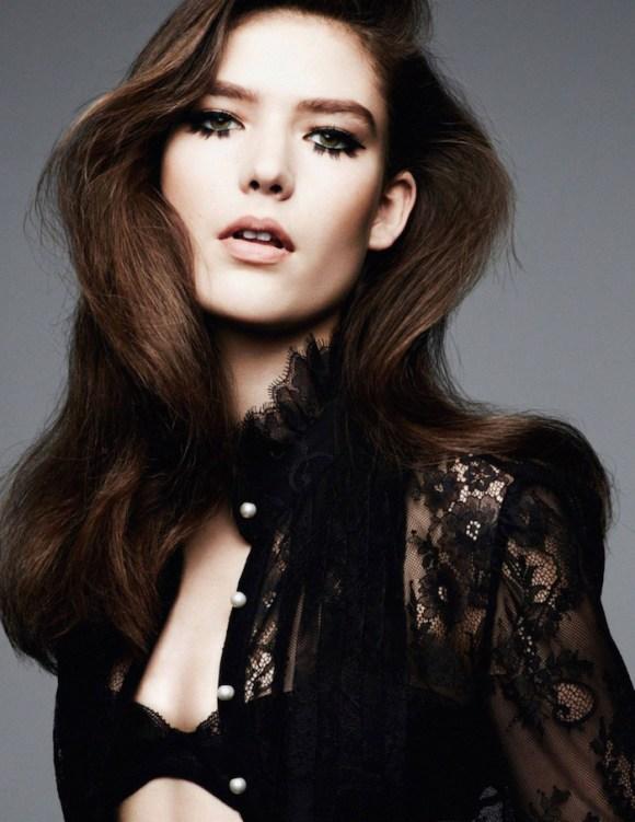 Zuzu Tadeushuk by Ben Hassett for Vogue Paris