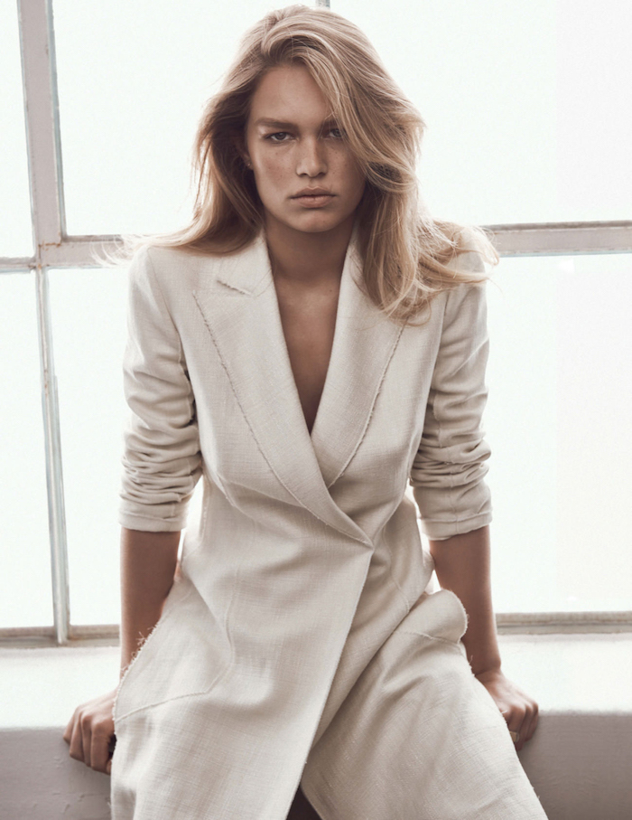 Anna Ewers by Lachlan Bailey for Vogue UK