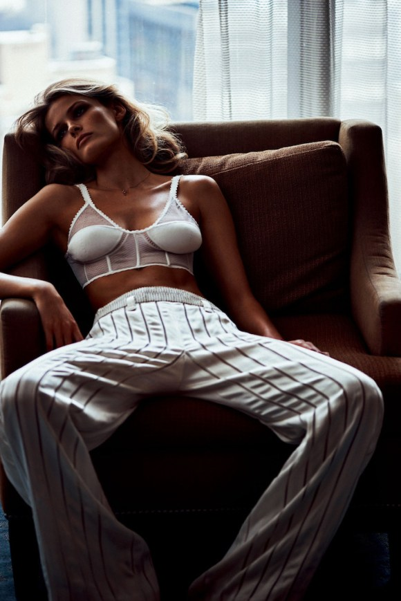 Edita Vilkeviciute by Lachlan Bailey for Vogue Japan