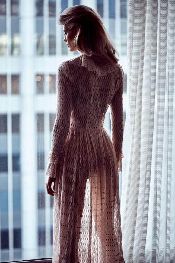 Edita Vilkeviciute by Lachlan Bailey for Vogue Japan