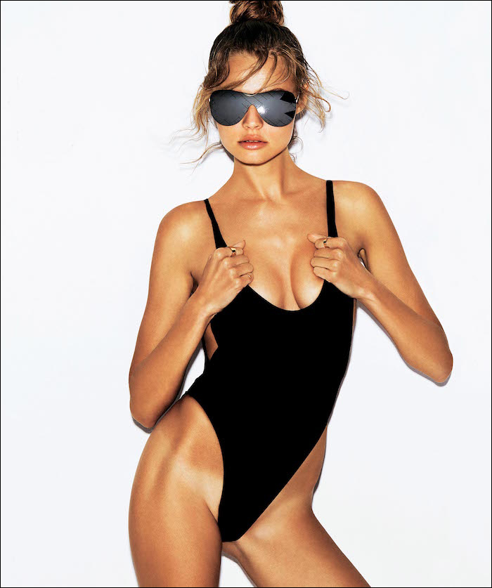 Magdalena Frackowiak by Alvaro Beamud Cortes for S Moda