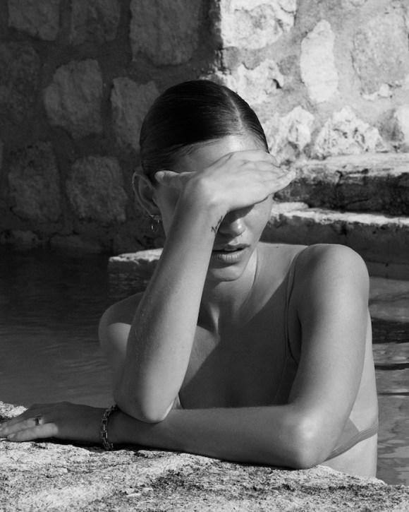 Phoebe Tonkin by Alexandra Nataf for Matteau Swim Resort