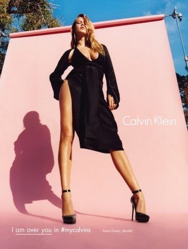 Anna Ewers by Tyrone Lebon for Calvin Klein