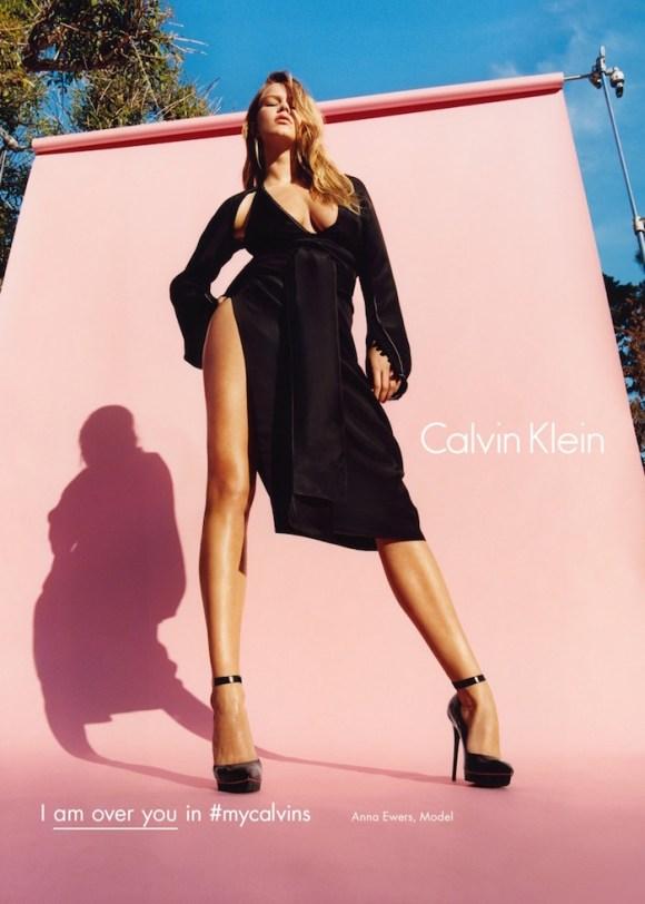 Anna Ewers by Tyrone Lebon for Calvin Klein