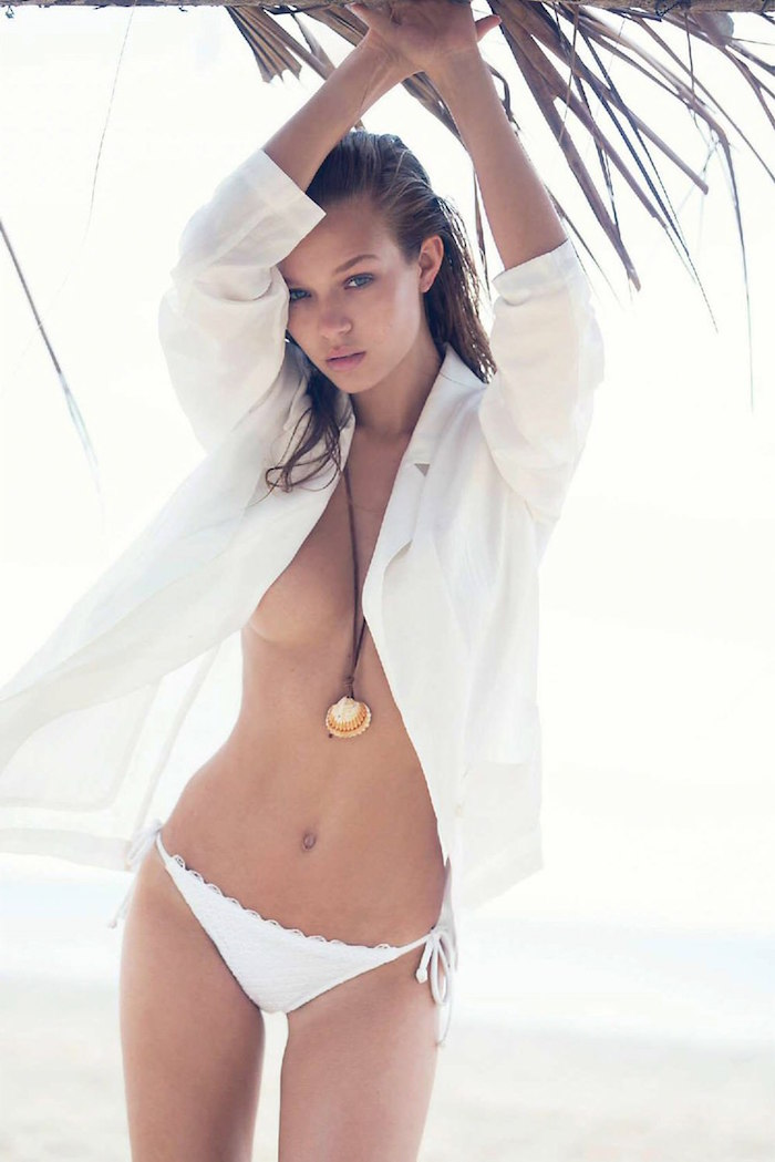 Josephine Skriver by David Bellemere for Marie Claire Italy