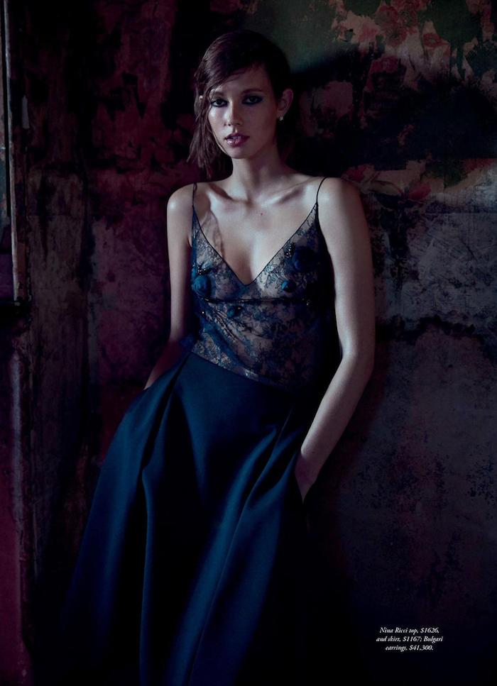 Mali Koopman photographed by Steven Chee for Harper's Bazaar Australia, August 2016