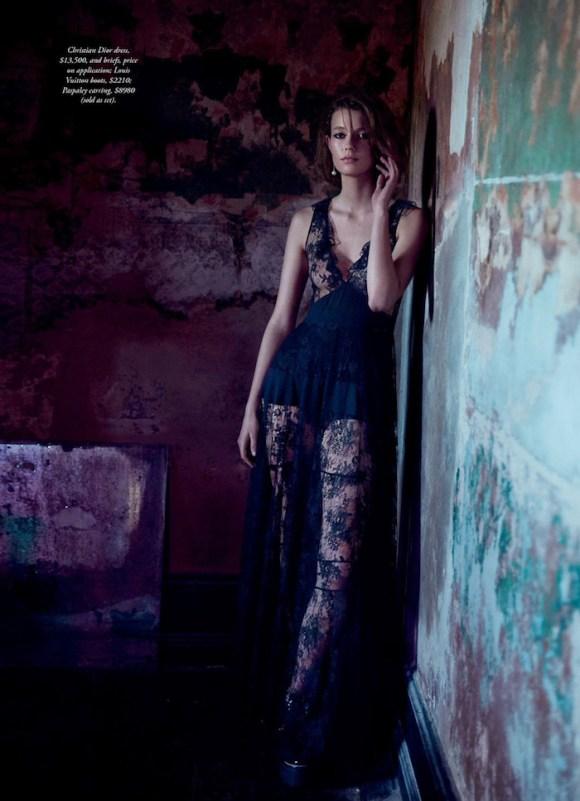 Mali Koopman by Steven Chee for Harper's Bazaar Australia