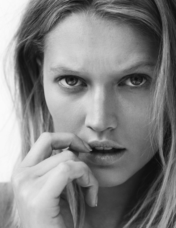 Toni Garrn by Philip Gay for Madame Figaro