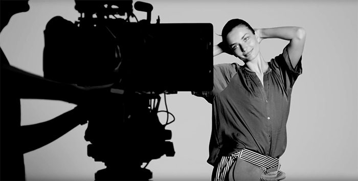 BTS: Andreea Diaconu for Woolworths