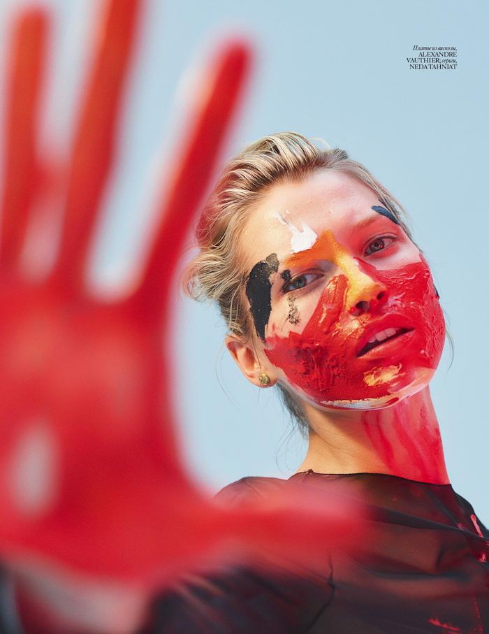 Hana Jirickova photographed by Hunter & Gatti for Vogue Ukraine, August 2016