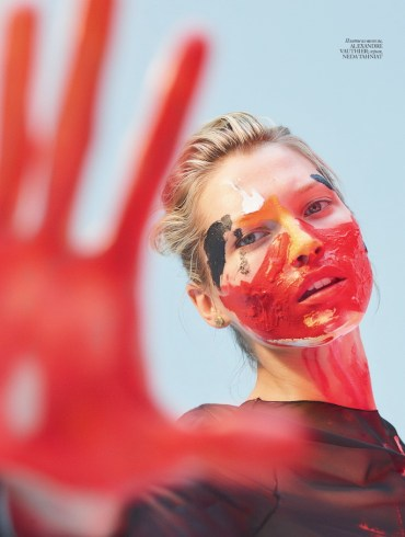 Hana Jirickova by Hunter and Gatti for Vogue Ukraine