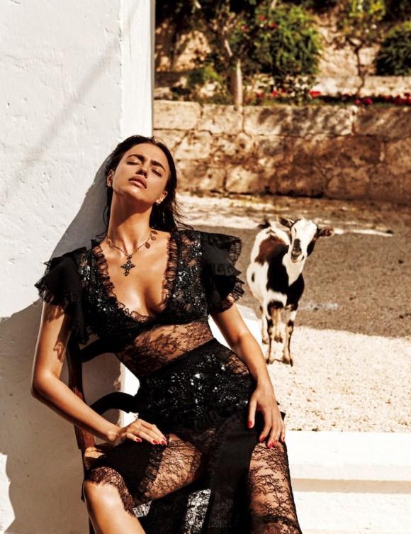 Irina Shayk by Giampaolo Sgura for Vogue Japan