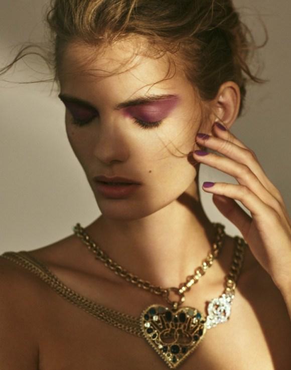 Emily Astrup by Kinya for Elle Vietnam