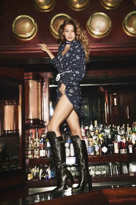 Gigi Hadid by Bjorn Iooss for Harper's Bazaar
